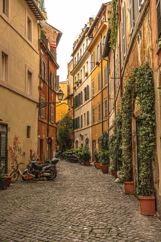 ancient rome streets