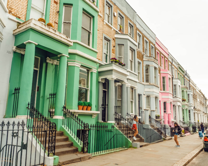 London day trip series: Notting Hill