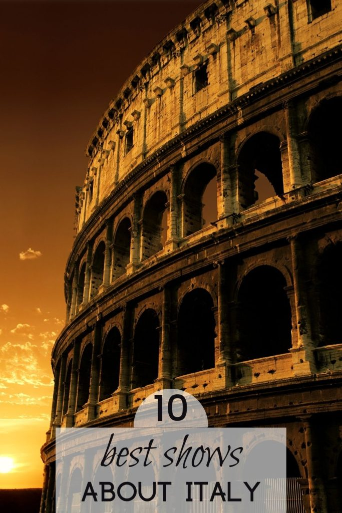 historic tv series about Italy rome tv shows