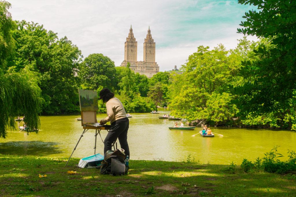 central park, manhattan new york city, nyc, usa