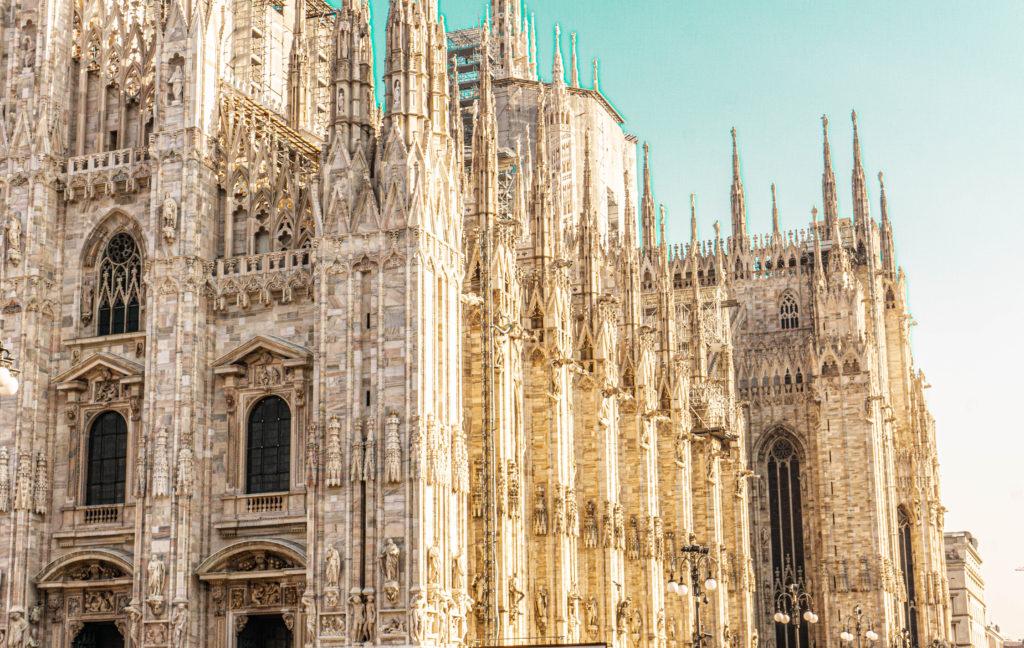piazza di duomo Milano centro, Milan Italy