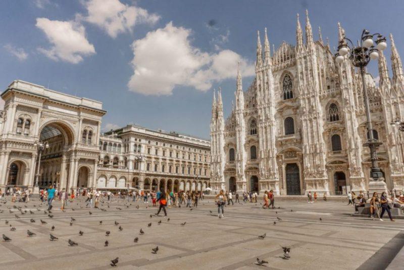 piazza del duomo milano italy
