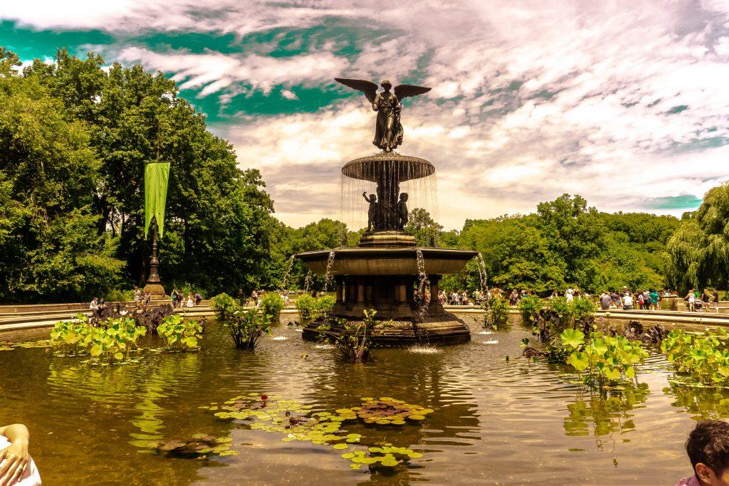 Bethesda Fountain central park new york