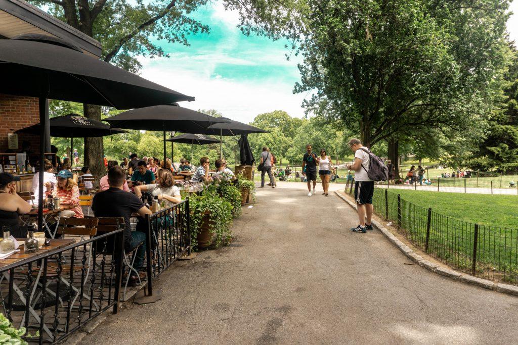 restaurants in central park
