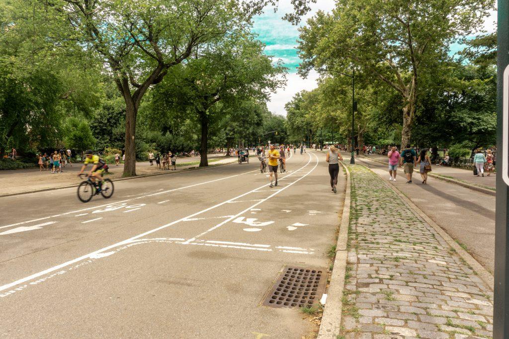runners central park new york city