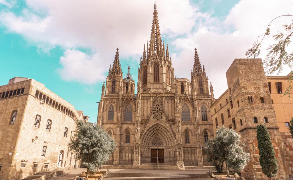 Barcelona Cathedral, Barcelona, Spain