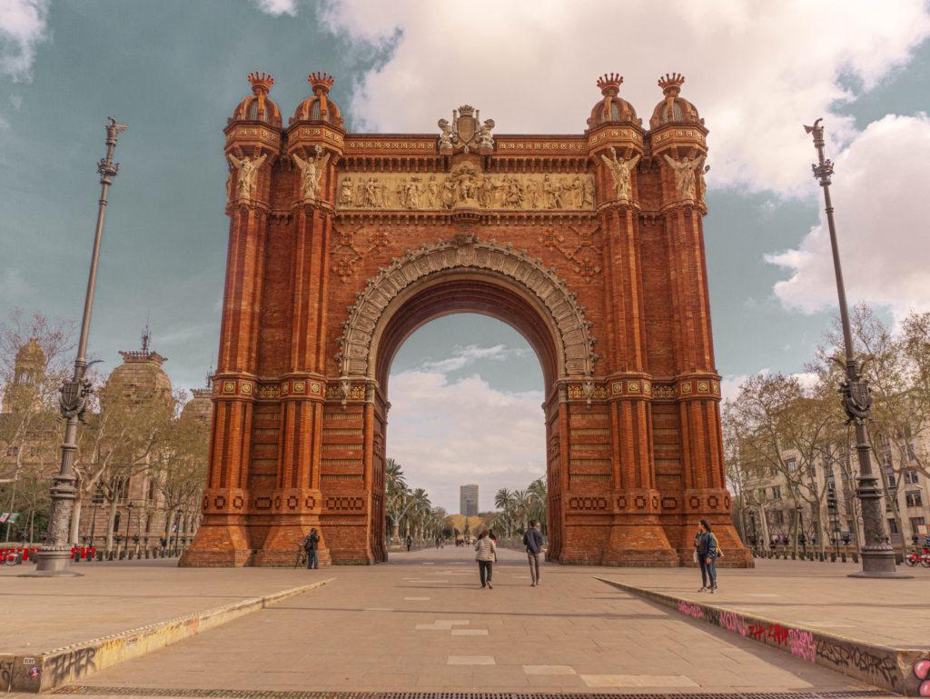 Arc de Triumf, Barcelona, Spain
