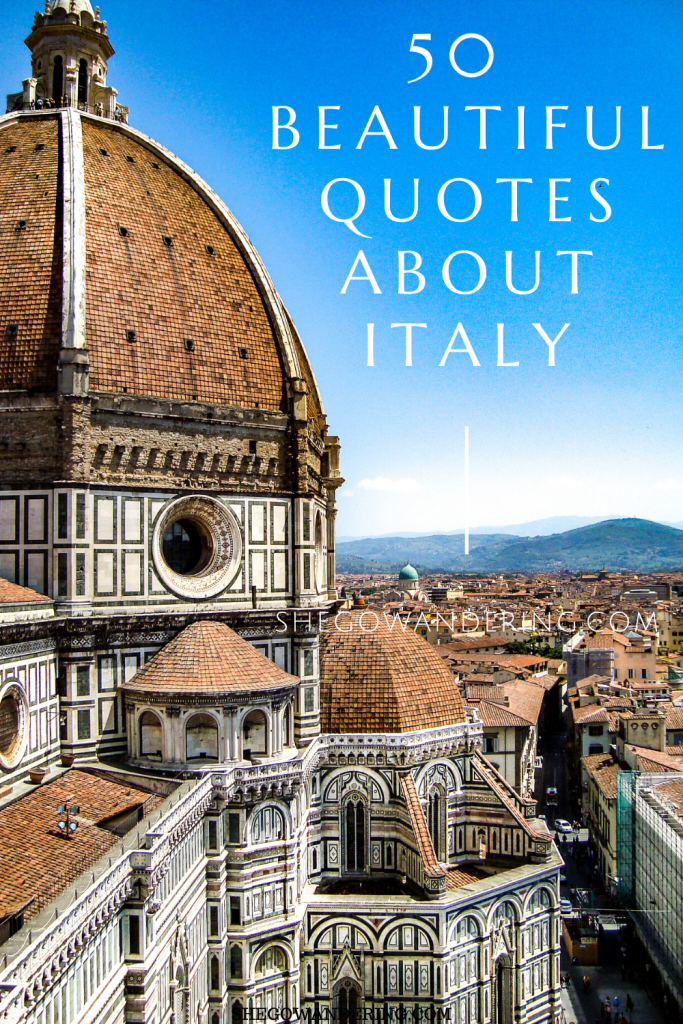 50 Quotes about Italy