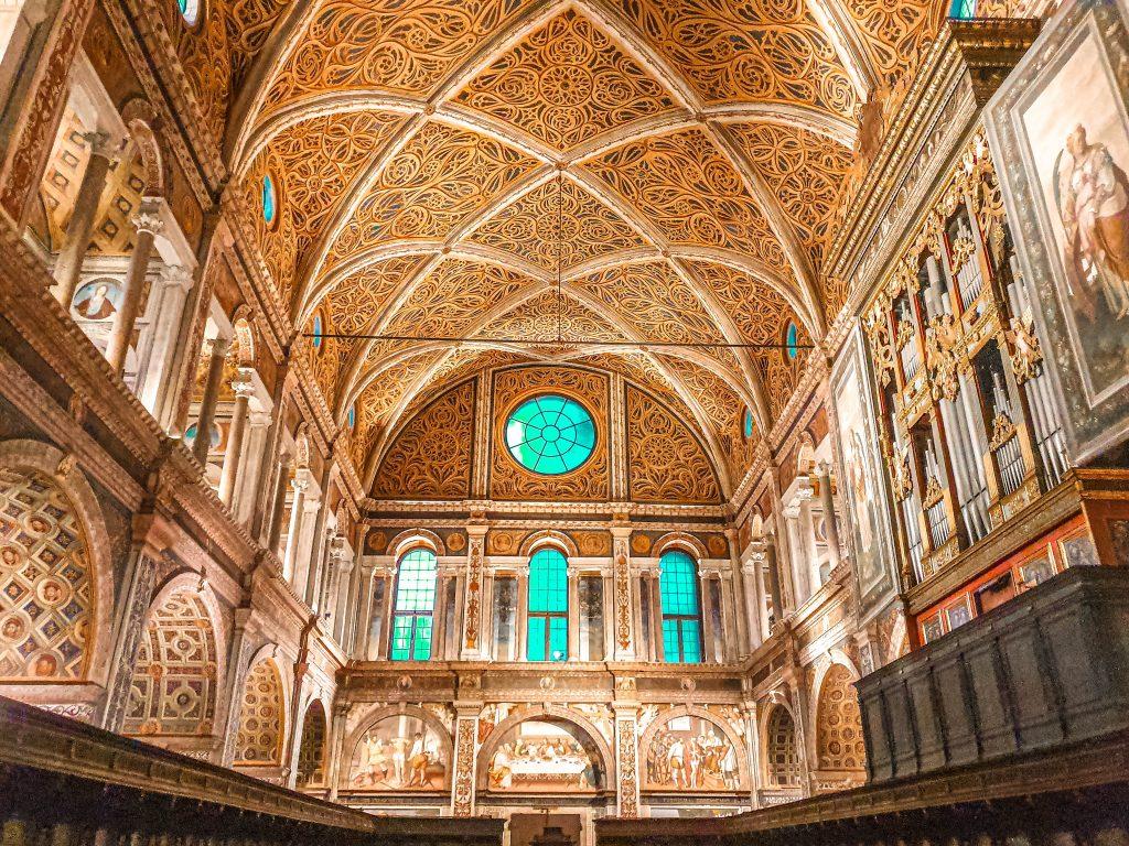 San Maurizio al Monastero Maggiore milan italy