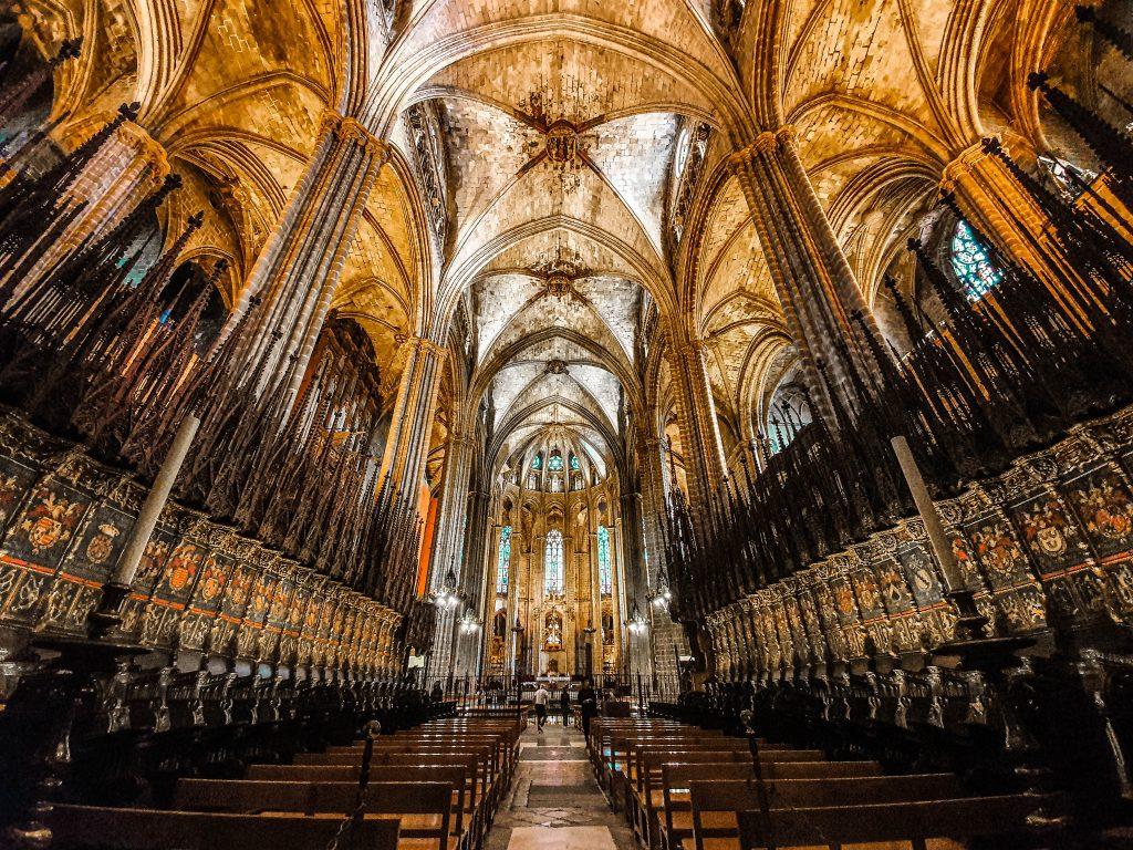 barcelona cathedral barcelona spain