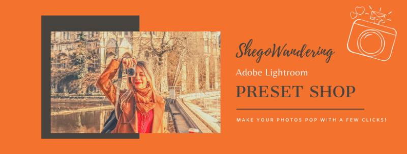 shegowandering preset shop