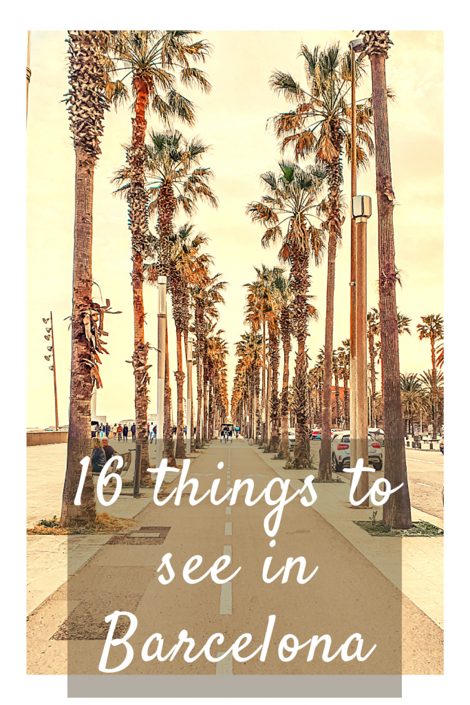 16 things to see in Barcelona Spain