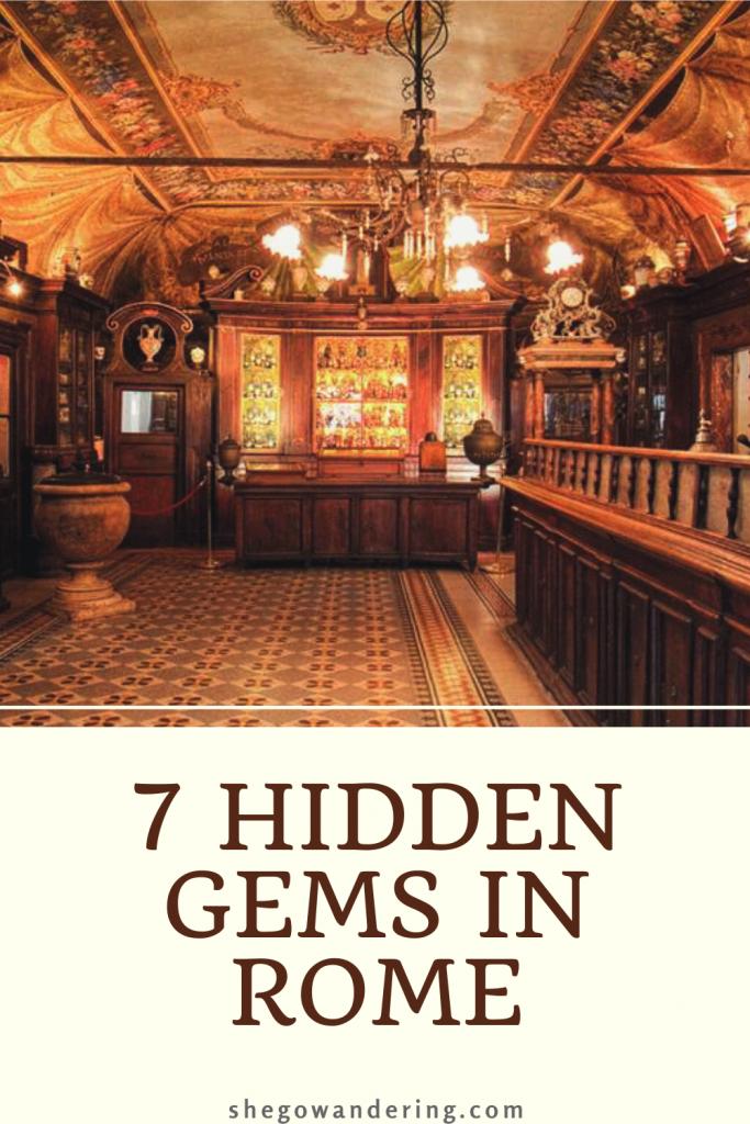 7 hidden gems in Rome Italy