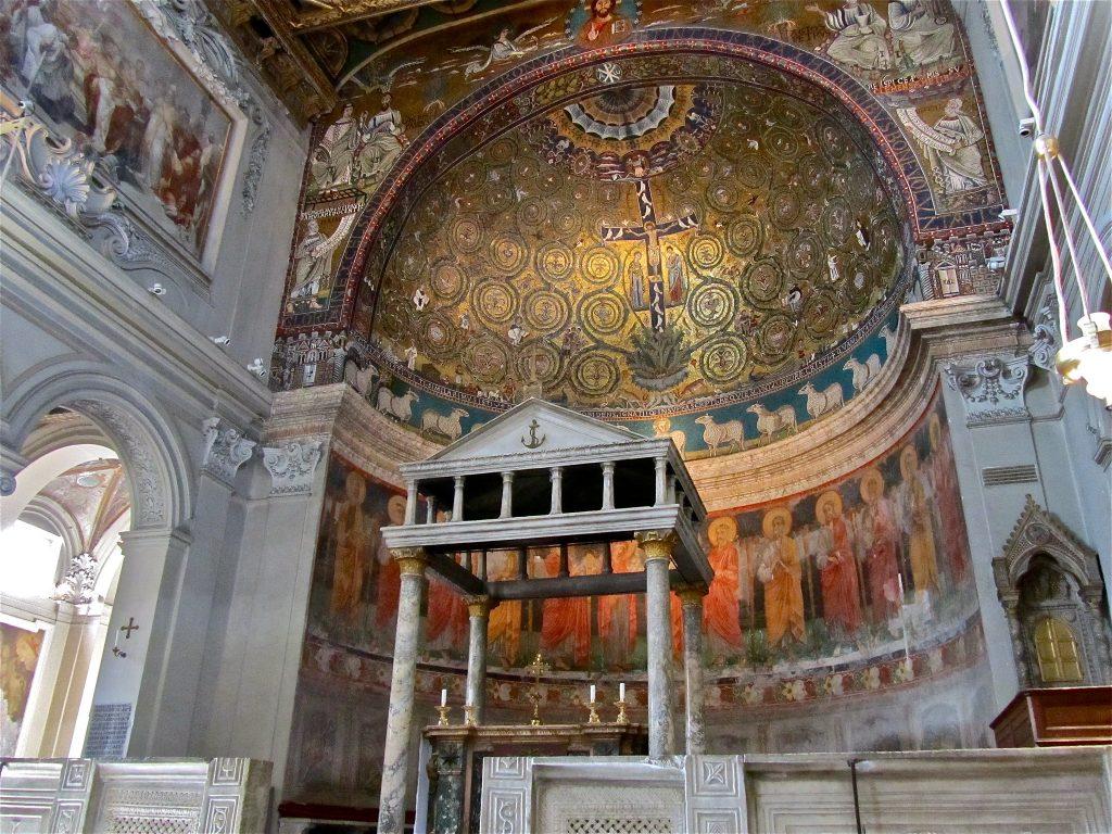 Basilica San Clemente rome italy