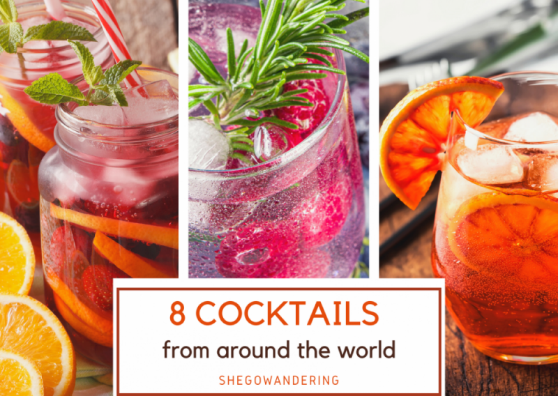 8 Spritz and Cocktails from Around the World