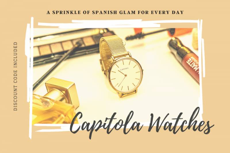 Capitola Watches – A sprinkle of Spanish glam for every day