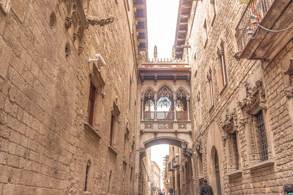 Pont del Bisbe barcelona spain