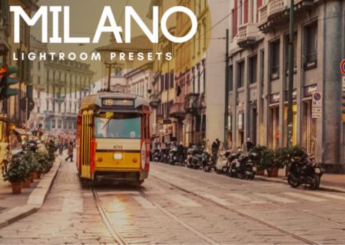ShegoWandering Milano Lightroom Presets