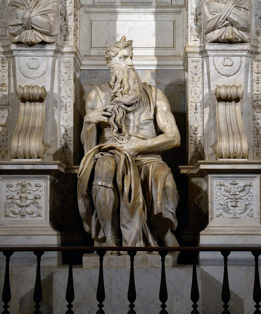 Moses Michelangelo rome italy