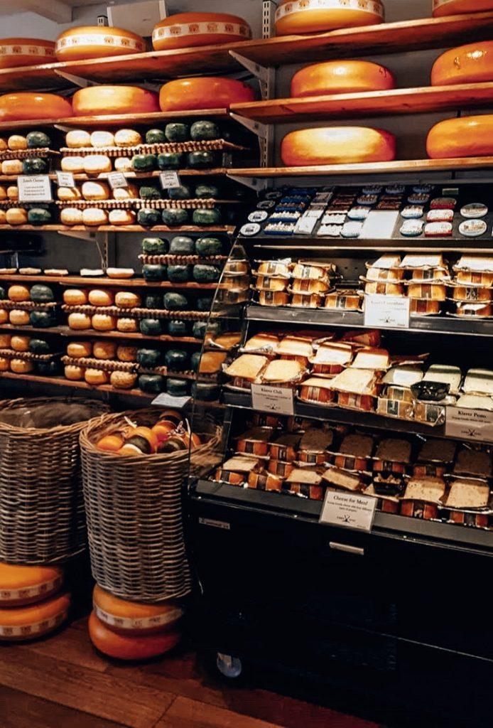 cheese shop amsterdam, netherlands