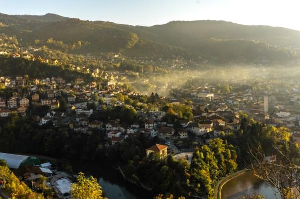 sarajevo from above, Bosnia Herczegovina