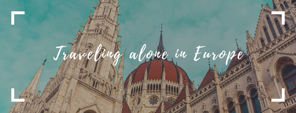traveling alone in europe