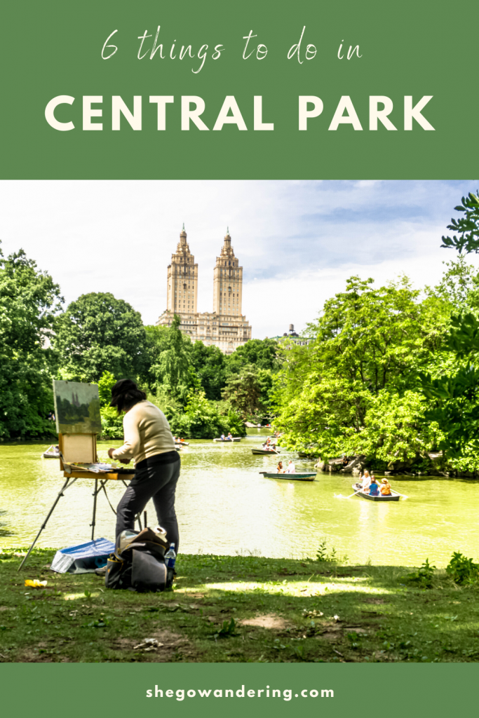 things to do in central park new york city