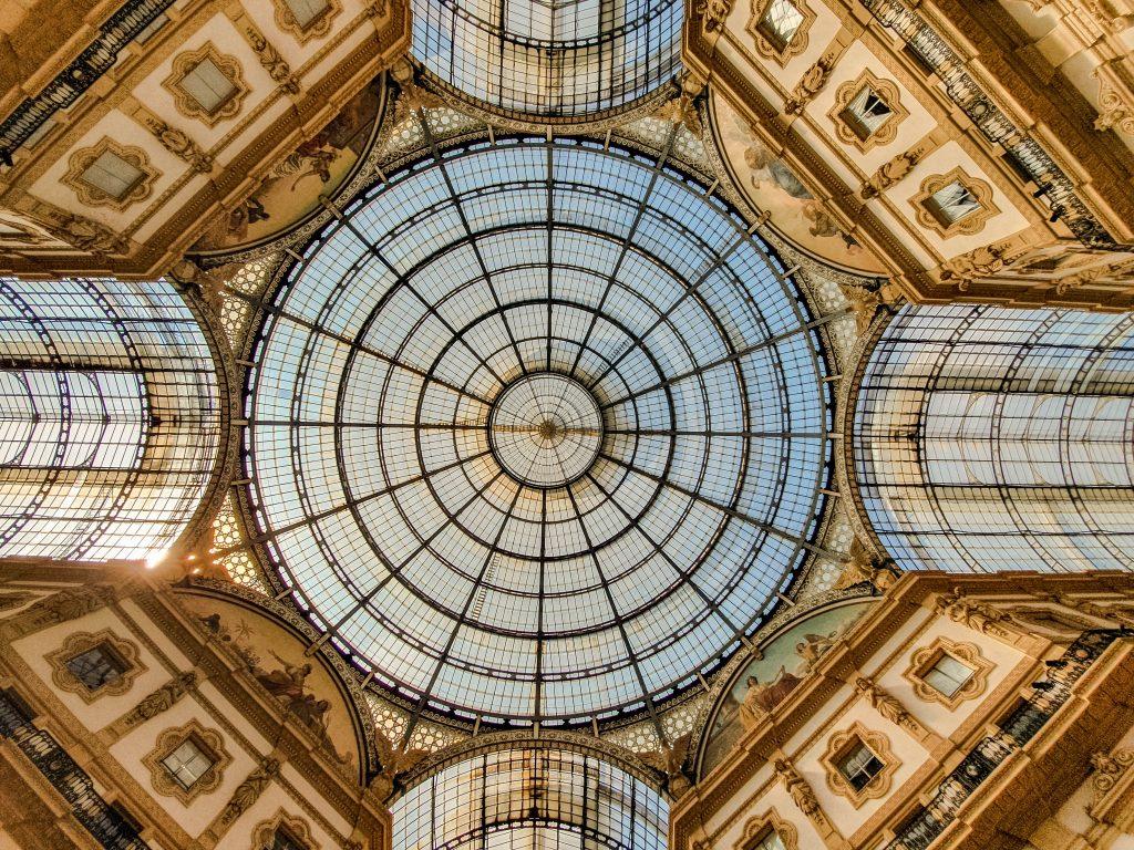 Galleria vittorio emmanuele milano italy