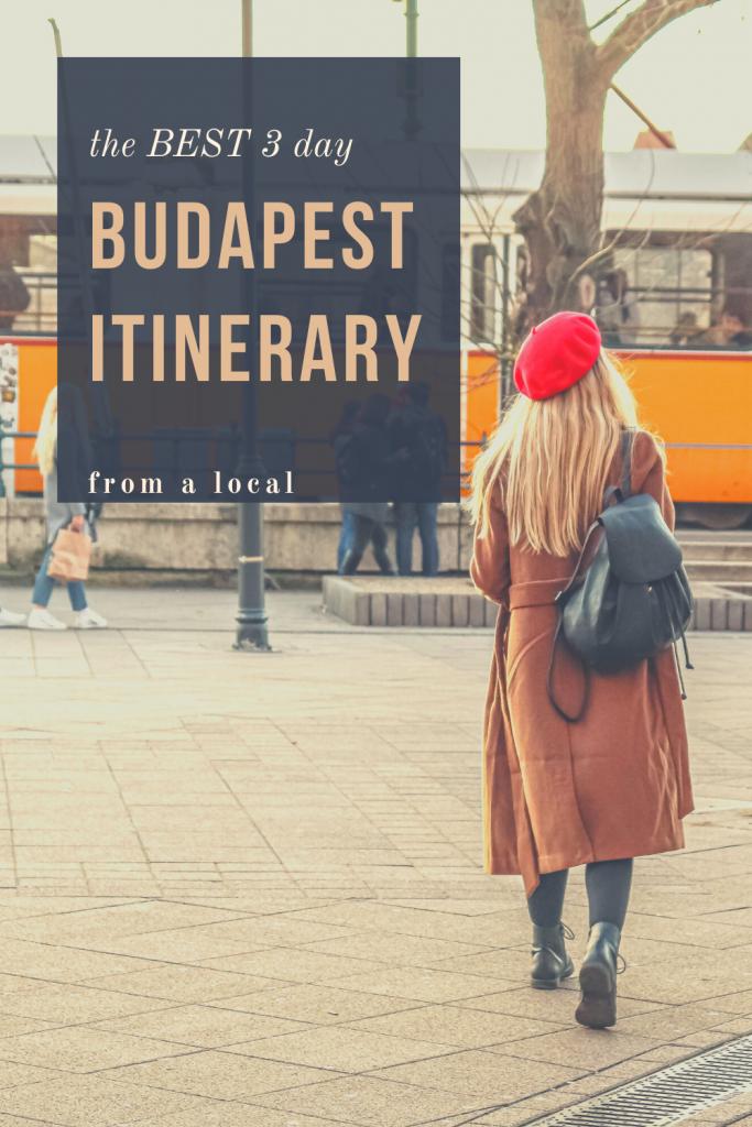 budapest 3 day itinerary