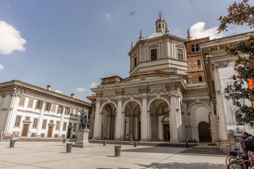 Basilica San Lorenzo Maggiore milan italy