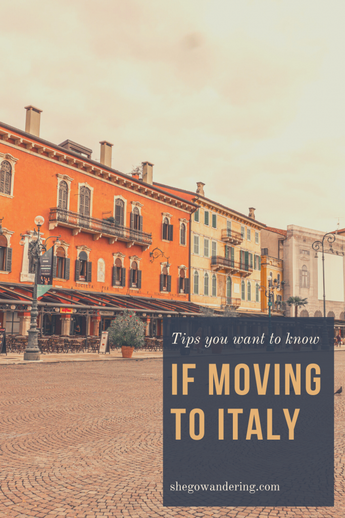 moving to italy - tips to know
