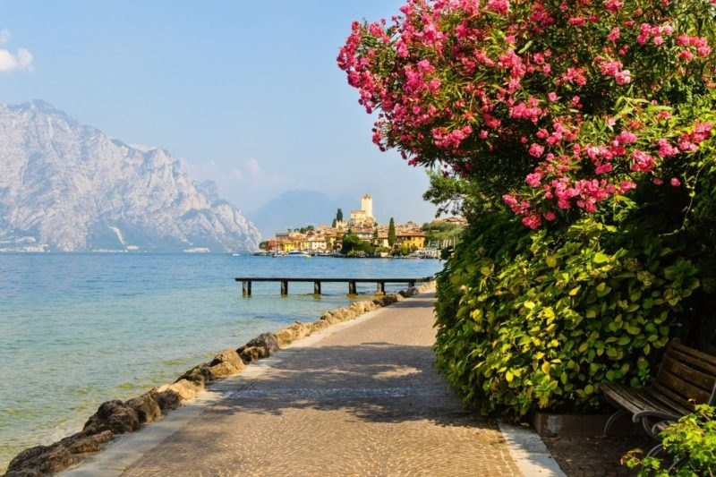 Charming towns to visit at Lake Garda, Italy