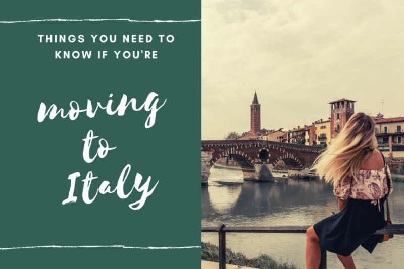 Planning to move to Italy? Things you need to prepare for