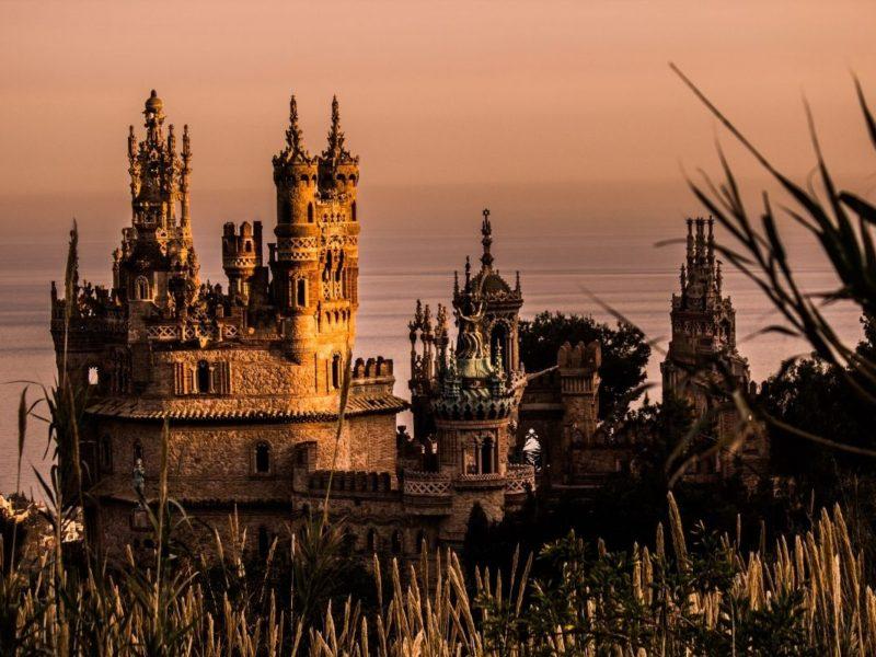 colomares castle benalmadena spain