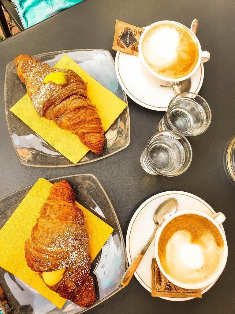 breakfast trento italy