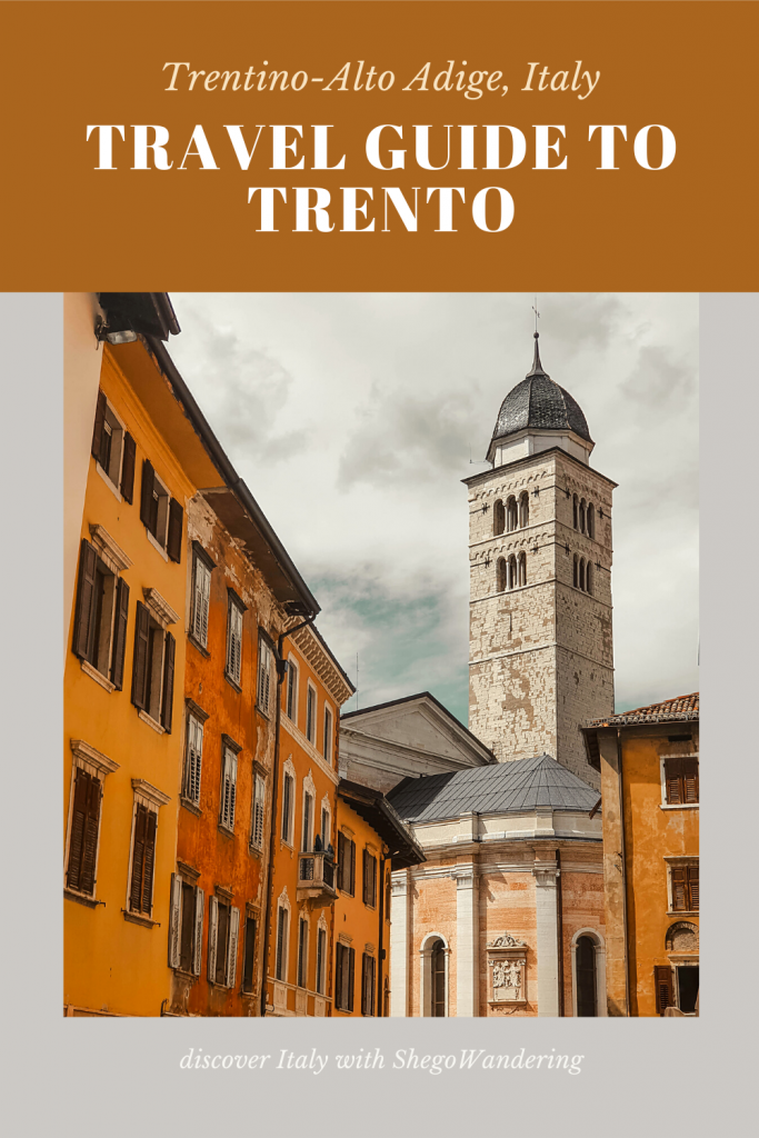 THINGS TO DO IN TRENTO ITALY