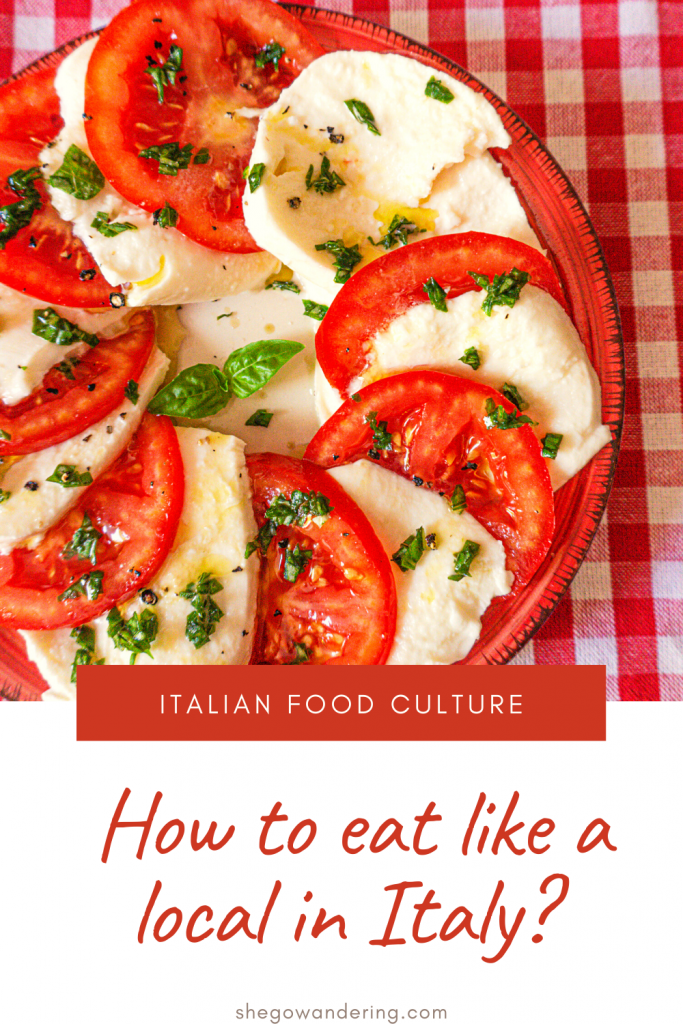 eat like a local in italy