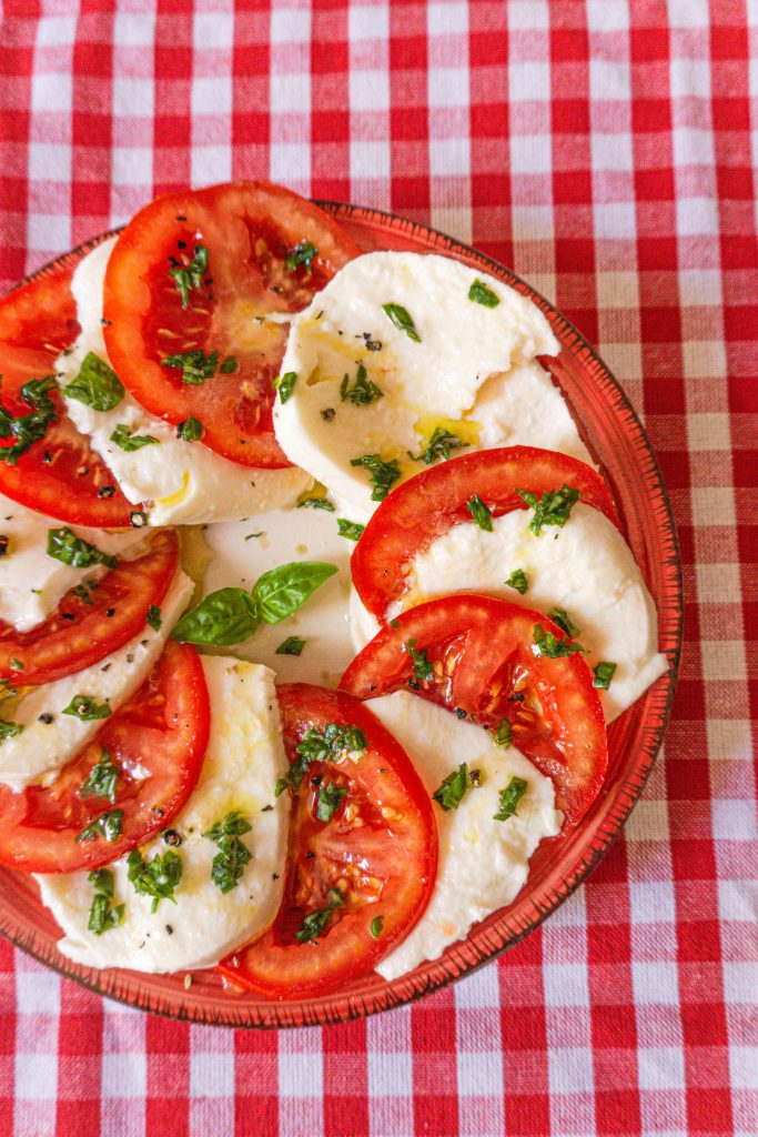 caprese salad italy food