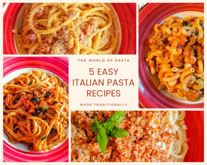 5 easy italian pasta recipes