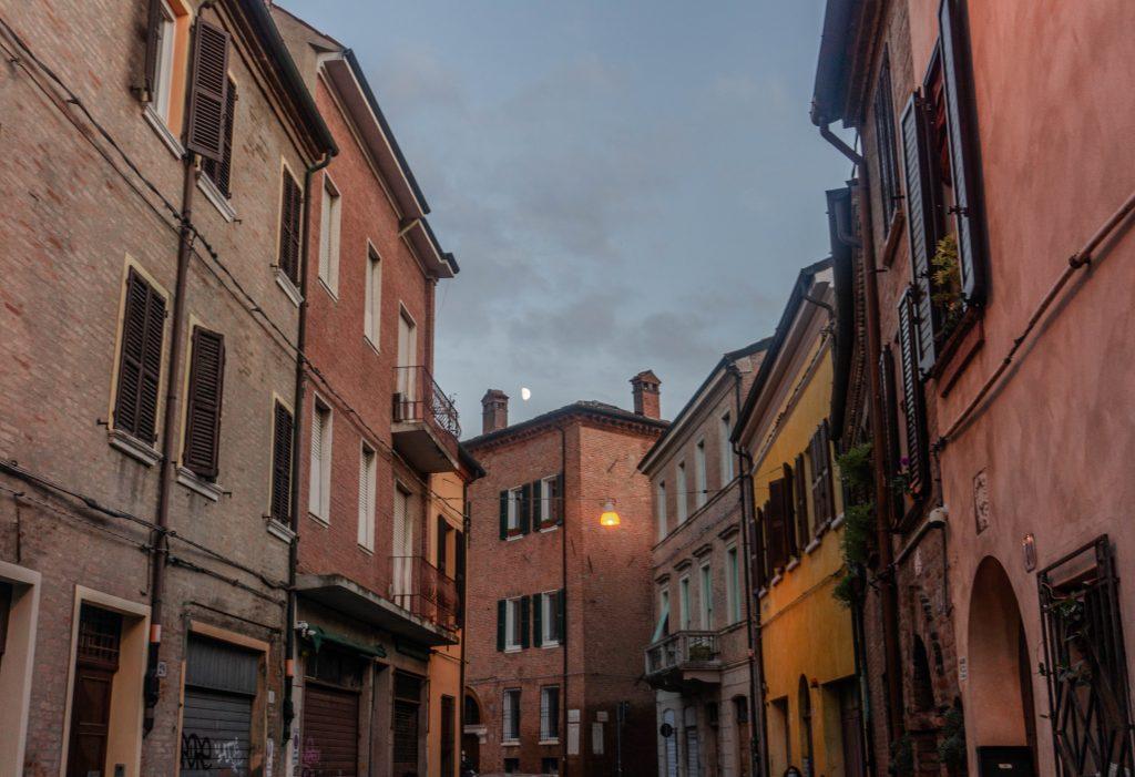 historic center ferrara