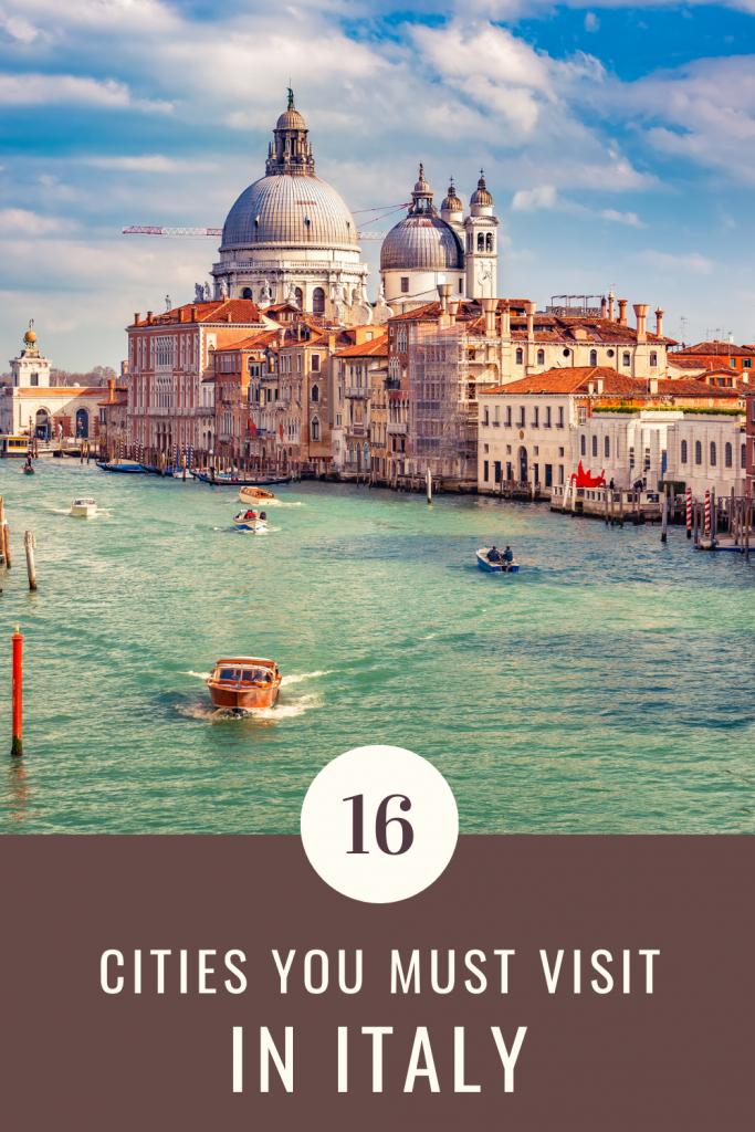 Italy bucket list cities