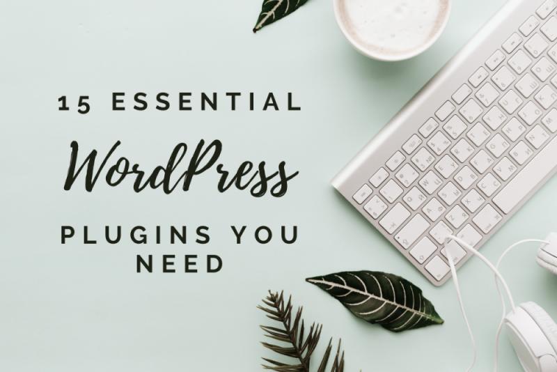 15 Essential WordPress Plugins that you need