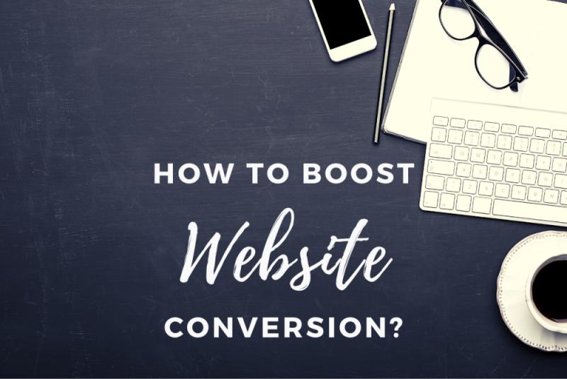 boost website conversion
