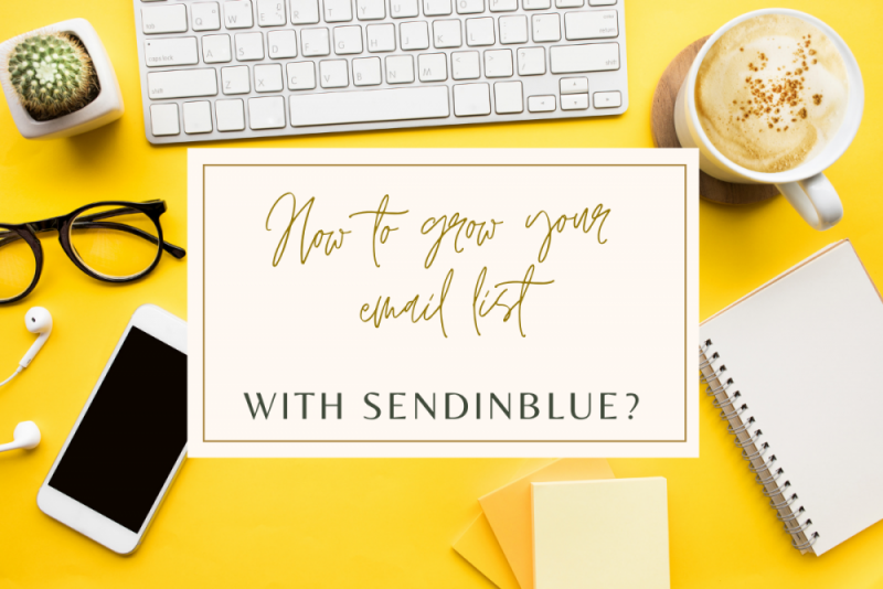 How to grow your email list with Sendinblue and WPForms